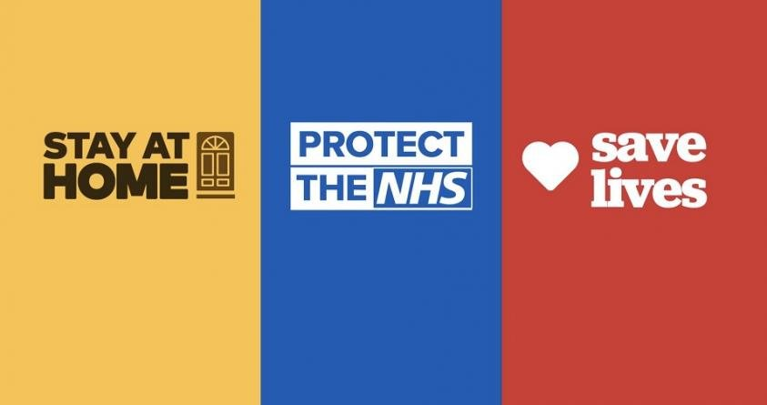Stay at Home Protect the NHS Save lives Care and Choice